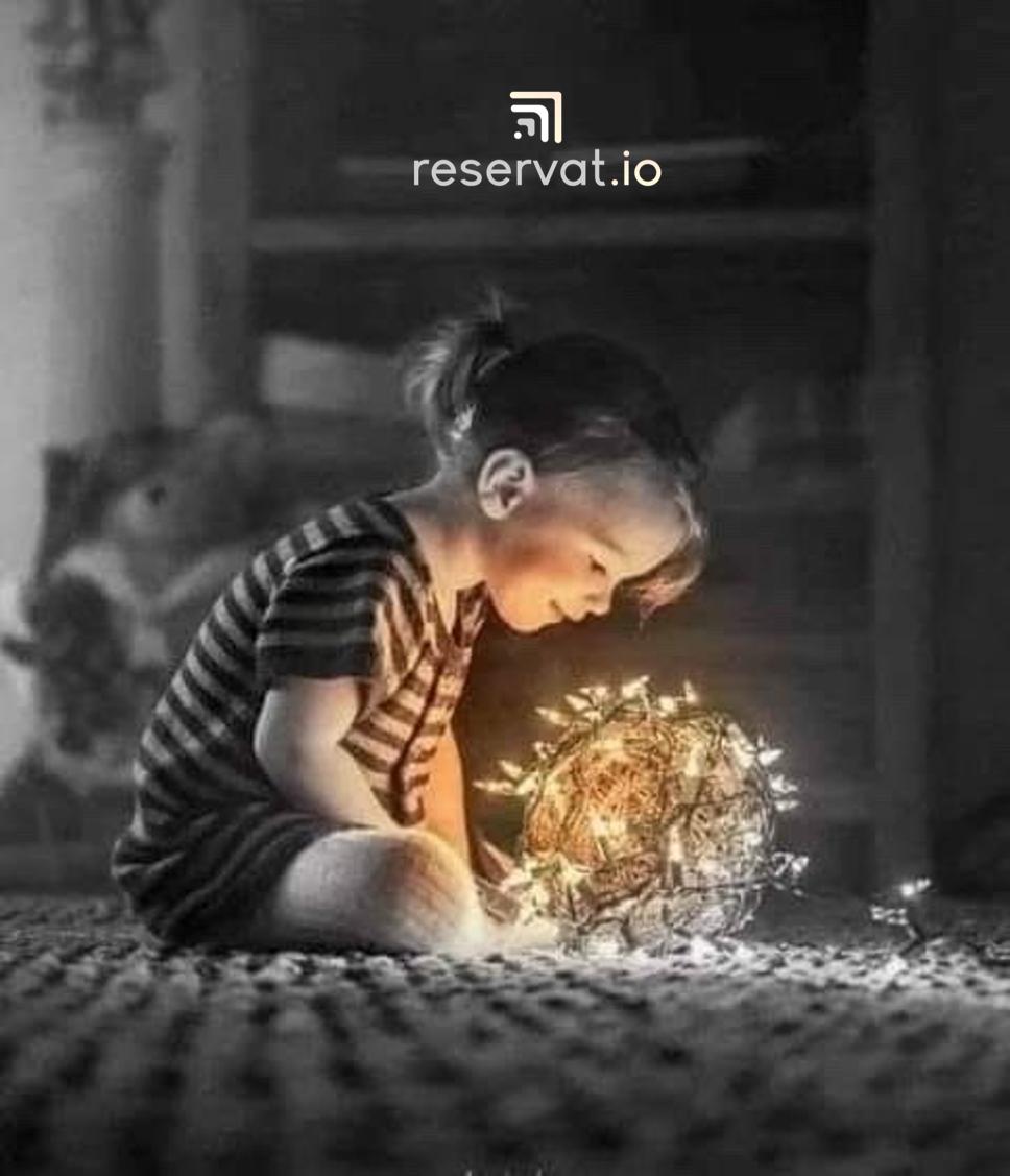 La magia de la mirada de un niño...